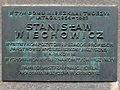 Kraków, ul. Św. Marka 8 fot. 001 (tablica pamiątkowa Stanisława Wiechowicza).jpg