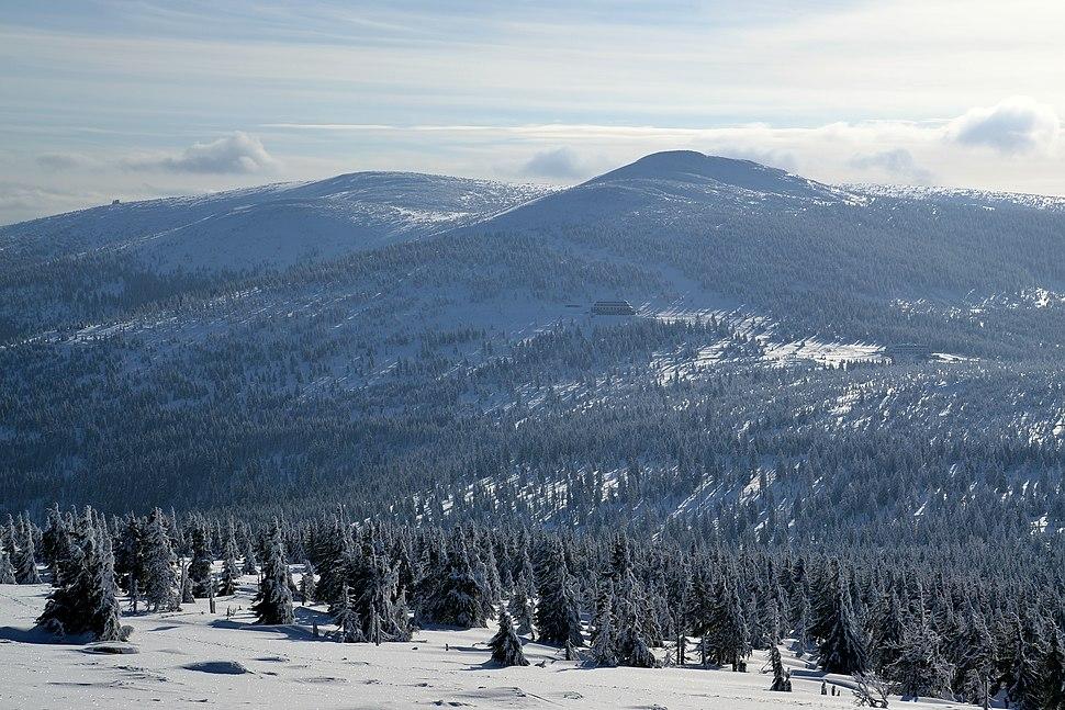 Krkonoše mountains in winter 2018 04
