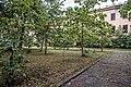 Kronstadt Kommunisticheskaya 1 - garden.jpg