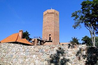 Kruszwica - Ruins of the medieval castle