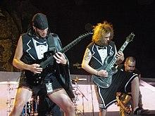 Adam Dutkiewicz e Joel Stroetzel al Mayhem Fest 2009