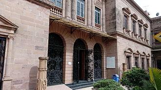 Kutch Museum - Museum building gate