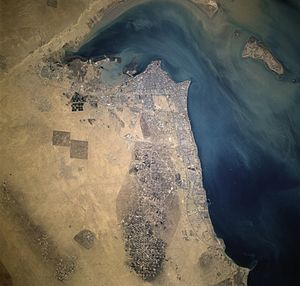 Energy crisis - Kuwait's Al Burqan Oil Field, the world's second largest oil field