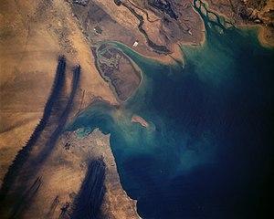 Kuwaiti oil fires