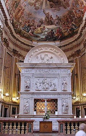 Basilica of San Bernardino - Saint Bernardin's mausoleum