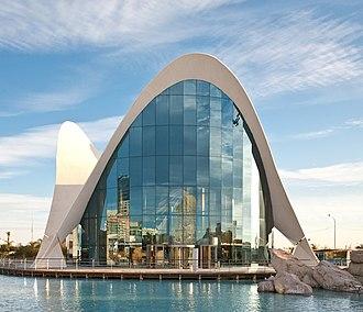 L'Oceanogràfic - Entrance to the marine complex