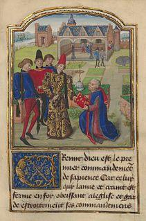 Burgundian writer and historian