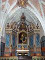 L'autel du collatéral gauche - église Sainte-Catherine de Montaut.jpg