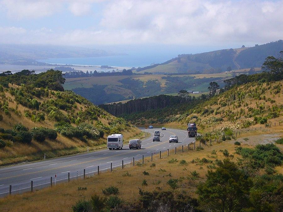 Dunedin-Waitati Highway