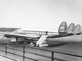 Lockheed L-749 Constellation - An L-749A of ''CAUSA''.