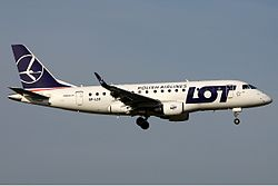 Embraer 170 der LOT