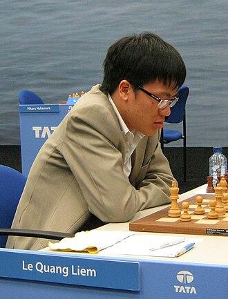 Lê Quang Liêm - Liêm during the Tata Steel Chess Tournament in 2011