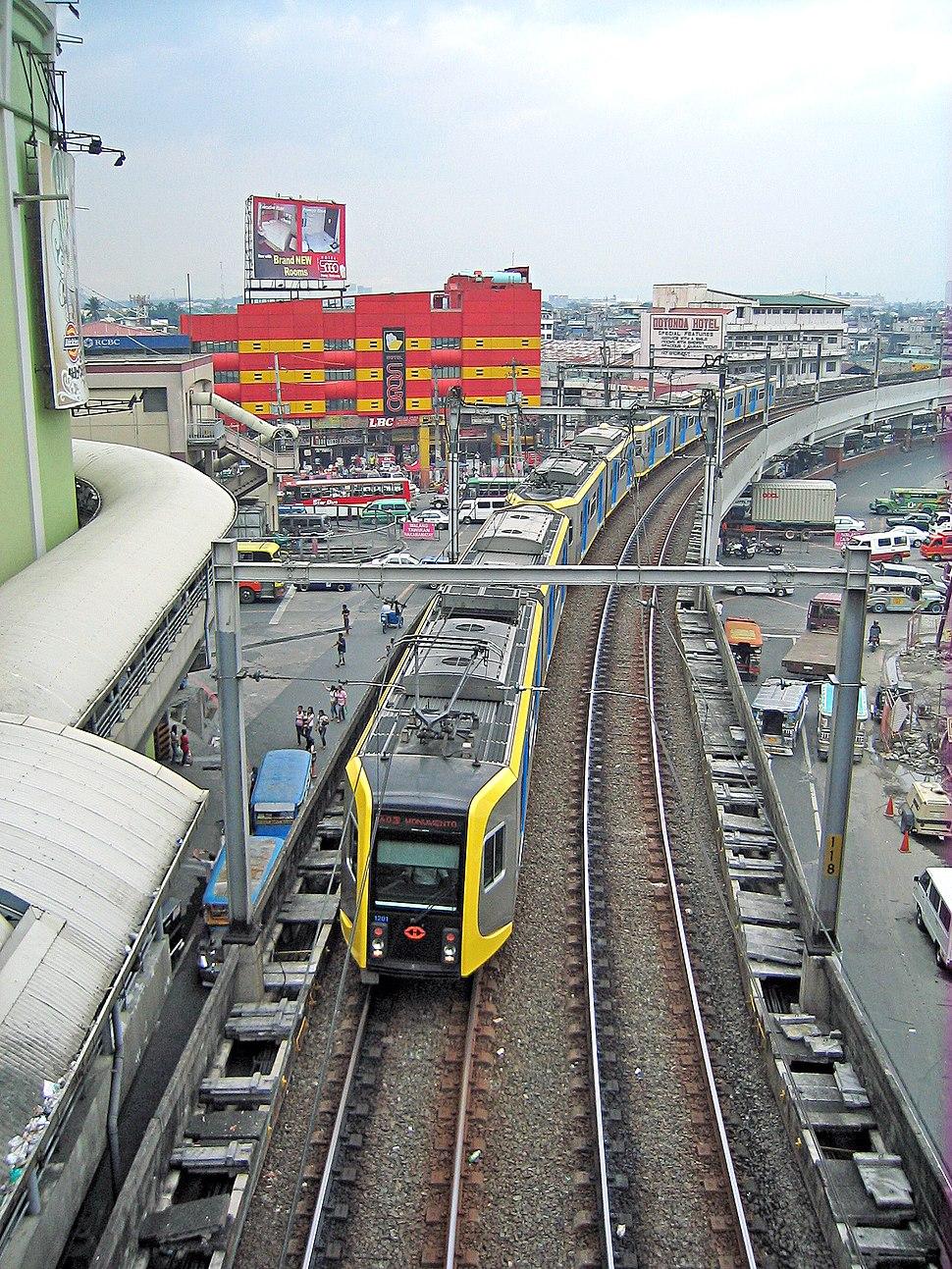 LRT1-Manila towards Taft Station