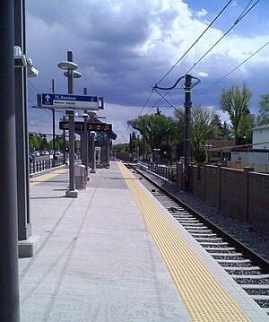 McKernan/Belgravia station - Image: LRT Station Mc Kernan Belgravia 10