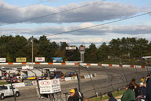 La Crosse Fairgrounds Speedway - Image: La Crosse Fairgrounds Speedway Turn 1