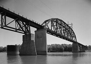 LaSalle Rail Bridge bridge in United States of America