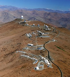 La Silla Observatory astronomical observatory in Chile