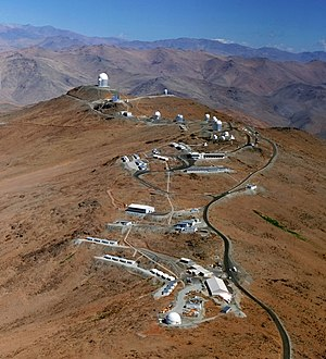 European Southern Observatory - La Silla, Chile – A cluster of telescopes at 2,400 metres altitude