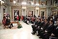 La alcaldesa entrega la Llave de Madrid al presidente chino en su visita al Ayuntamiento 10.jpg