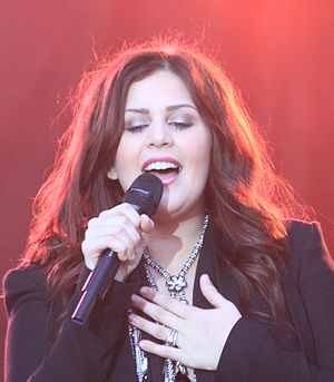 Hillary Scott - Scott performing in 2012