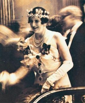 Lady Edith Londonderry with Ramsay MacDonald