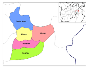 Districts of Laghman.