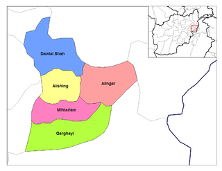 Mihtarlam District District in Laghman Province, Afghanistan