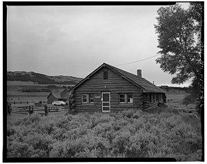 Lamar Buffalo Ranch - Image: Lamar Buffalo Ranch Buildings 02