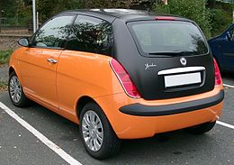 Lancia Ypsilon rear 20071002.jpg