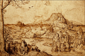 Landscape With Rest on the Flight into... - Pieter Brueghel.png
