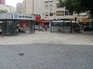 Largo do Machado Station metro station in Rio de Janeiro, Brazil