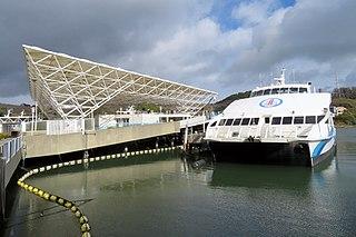 Larkspur Landing Ferry terminal in Larkspur, California