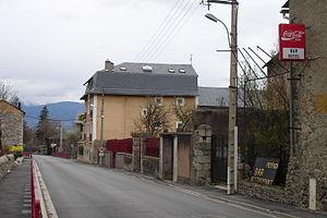 Route nationale 20 - Route nationale 20 passing through Latour-de-Carol.