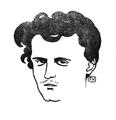 Lautréamont drawn by Félix Vallotton.png