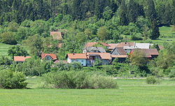 Laze pri Gorenjem Jezeru Slovenia.JPG