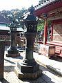 Le Temple Shintô Takisan-Tôshô-gû - Les lanternes de cuivre.jpg
