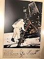 Legacy of Branko Pešić in Adligat, signatures of the astronauts of Apollo 11.jpg