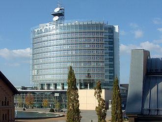Mitteldeutscher Rundfunk - MDR headquarters in Leipzig