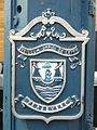 Leith burgh coat-of-arms on a lamppost.jpg