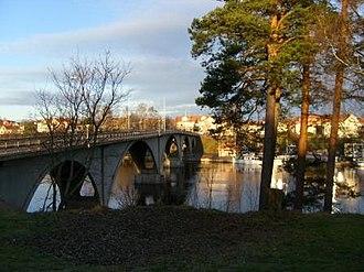 Leksand Municipality - Bridge over Österdal River.