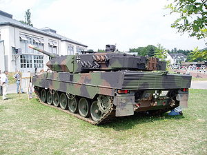 Rheinmetall - Image: Leopard 2 A6M
