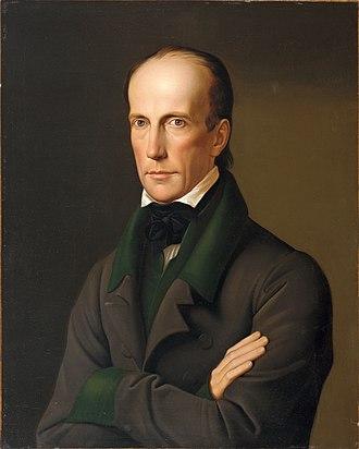 Archduke John of Austria - Portrait by Leopold Kupelwieser, 1828