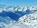 Les 3 Vallées, View direction Orelle - panoramio.jpg