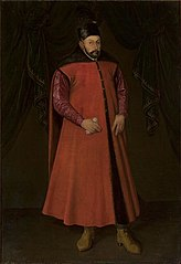 Portrait of Stephen Báthory