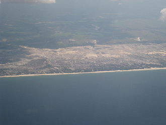 Lệ Thủy District - The seaside with sand dunes in Lệ Thủy