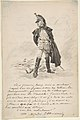 Letter to Samuel P. Avery with a drawing of a military figure MET DP807611.jpg