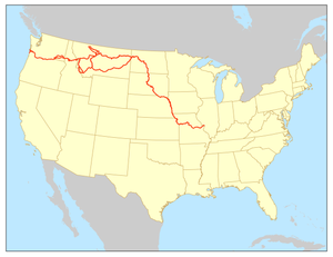 Lewis and Clark National Historic Trail - Image: Lewis and Clark National Historic Trail 2015