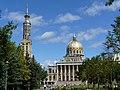 Licheń- Sanktuarium Matki Bożej Licheńskiej. Widok Bazyliki. - panoramio.jpg