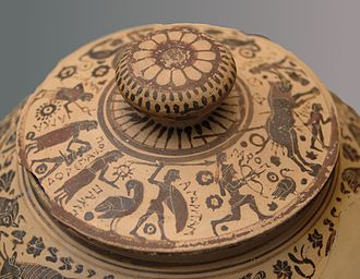 Dodwell Painter - Lid of the Dodwell Pyxis