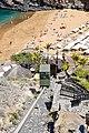 Lift zum Strand Playa Abama auf Teneriffa, Spanien (48225346322).jpg